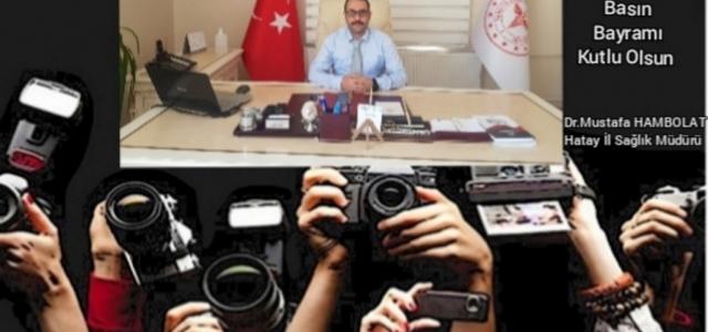'Emek ve Özveriyle Çalışan Gazetecilerin Bayramı Kutlu Olsun'
