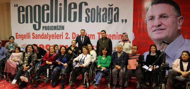 'Engelliler Sokağa' Projesi Vatandaşların Yüzünü Güldürdü