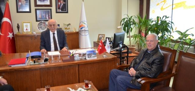 EPİSKOPOS'TAN BAŞKAN DİNGİL'E NEZAKET ZİYARETİ