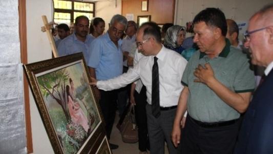 Erzin Halk Eğitim Merkezi Yılsonu Sergisi Açıldı