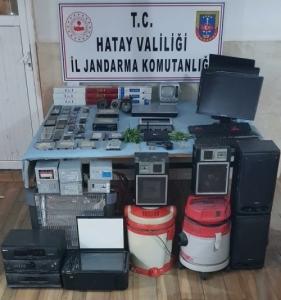 Erzin'de Uyuşturucu Ve Hırsızlık Operasyonu