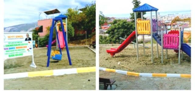 'Esentepe Mahallesine Yeni Çocuk Parkı Yapıldı'