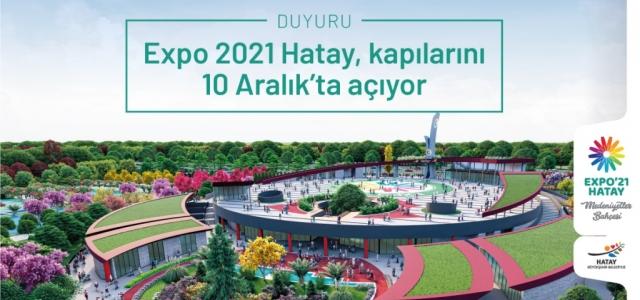 'Expo 2021 Hatay'a Covıd-19 Nedeniyle Yeni Tarih