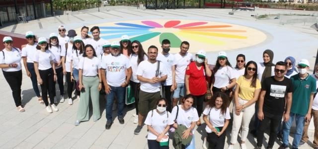 EXPO Gönüllülerinden İskenderun-Arsuz Alanına Ziyaret