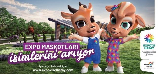 EXPO Maskotları İsimlerini Arıyor