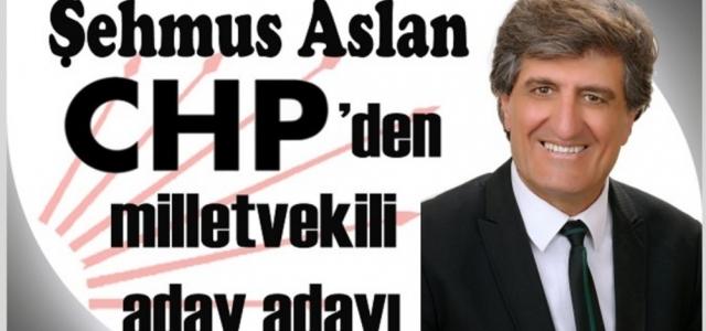 Gazeteci Şehmus Aslan CHP'den Milletvekili Aday Adayı