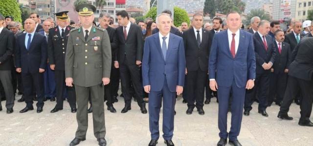 Gazi Mustafa Kemal Atatürk Saygıyla Anıldı