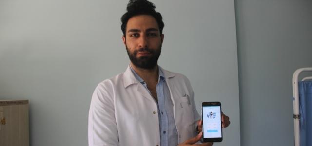 Genç Doktordan Hastalara 'Doktorum' Uygulaması