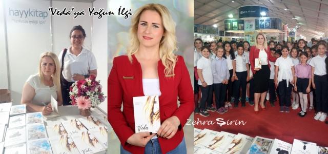 Genç Yazar Zehra Şirin'in 'Veda' Kitabı çıktı