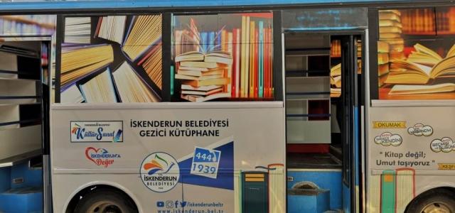 'Gezici Kütüphane Faaliyete Başlıyor'