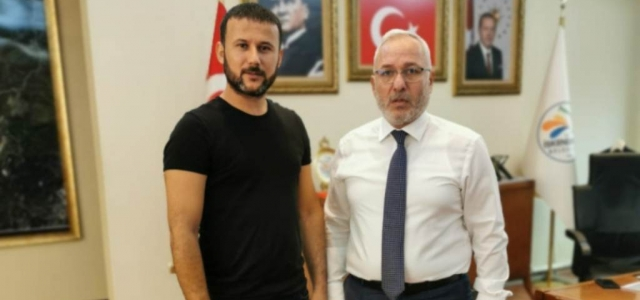 Gökhan Zeybek'ten Başkan Tosyalı'ya Ziyaret!