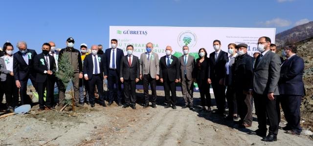 GÜBRETAŞ, 11.111 Fidanı Toprakla Buluşturdu