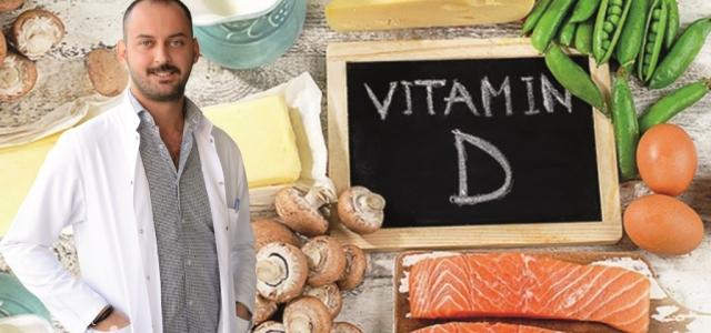 Güçlü Bağışıklık için D Vitamini Şart!