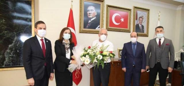 Gümrük Müdürlüğünden Başkan Tosyalı'ya Ziyaret