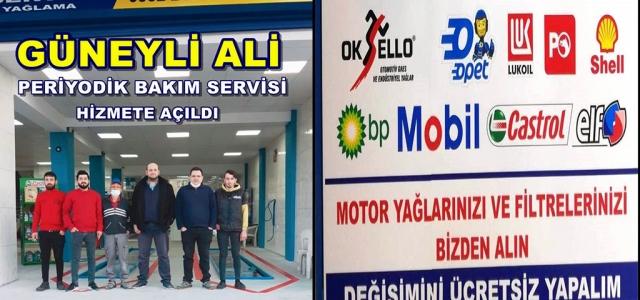 GÜNEYLİ ALİ Otomotiv Bakım Merkezi Açıldı!