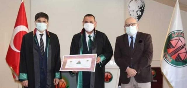 Gürsel Öztürk, Avukatlık Ruhsatnamesine Kavuştu