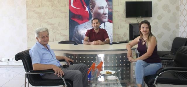 Hasan Bıçakçı'dan MEGA Medya'ya Ziyaret