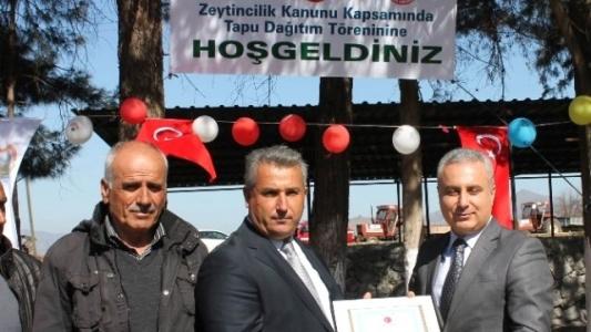 Hassa'da 80 Kişiye Tapu Dağıtıldı