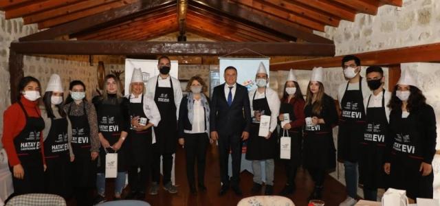 Hatay Gastronomi Evi Aşçılık Okulu Başladı