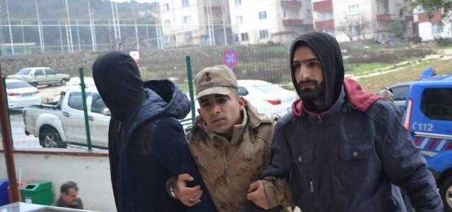 Hatay Sınırında HTŞ Üyesi 4 Kişi Yakalandı