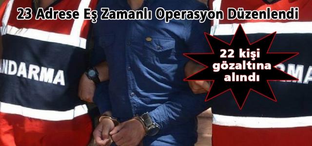 Hatay'da DAEŞ ve El Kaide Operasyonu