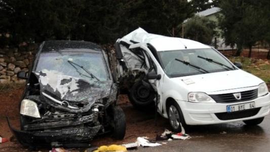 Hatay'da Trafik Kazası: 7 Yaralı