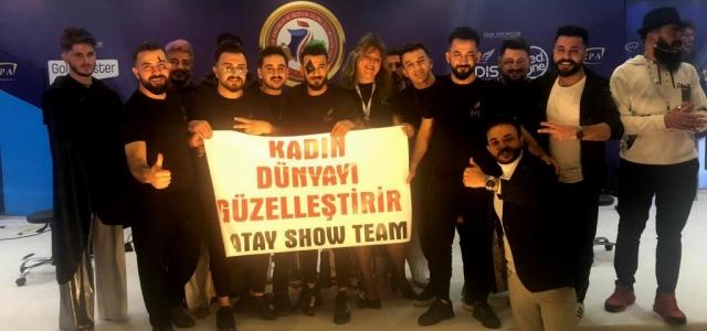 Hataylı Erkek Berberler Antalya'da Show Yaptı