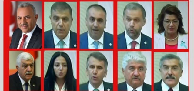 Hataylı Vekiller TBMM'de Hangi Komisyonlara Seçildi?