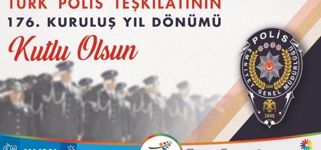 HBB Başkanı Savaş'ın Polis Haftası Mesajı