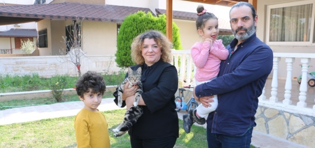 HBB İtfaiyesi Bıcırık'ı Ailesine Kavuşturdu