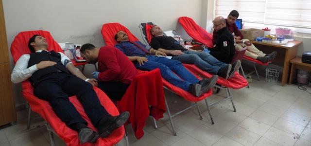 HBB Personelinden Kan ve Kök Hücre Bağışı
