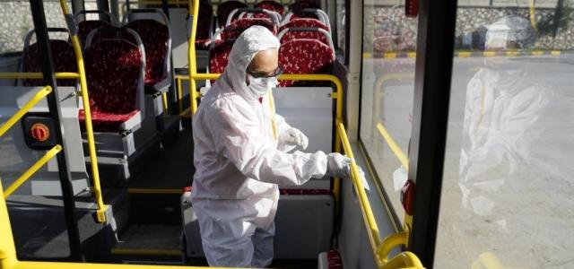 HBB Toplu Taşımada Dezenfeksiyonu Arttırdı