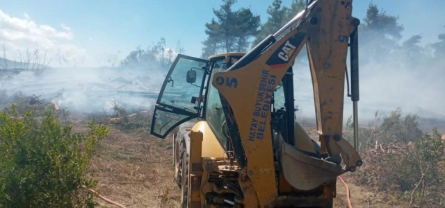 HBB'den Yangınlara Hızlı Müdahale