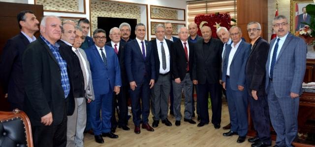 HESOB'tan Başkan Gül'e Hayırlı Olsun Ziyareti
