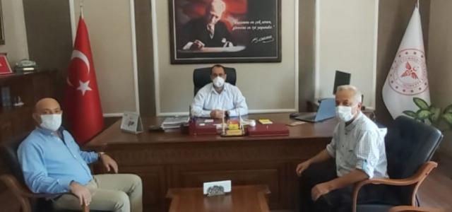 HGC Başkanı Temizyürek'ten Hambolat'a Ziyaret