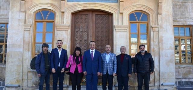 HGC Kilis Valisi Soytürk İle Bölgesel Sorunları Görüştü