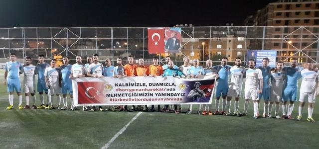 HGC'den 'Barış Pınarı'na Pankartlı Destek