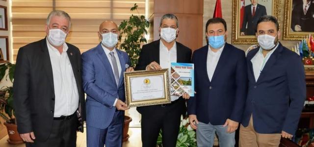 HGC'den Başkan Gül'e Nezaket Ziyareti