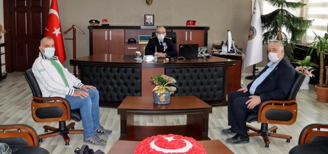 HGC'den Emniyet Müdürü Yavuz'a Ziyaret