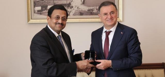 Hindistan Büyükelçisi Hatay'da
