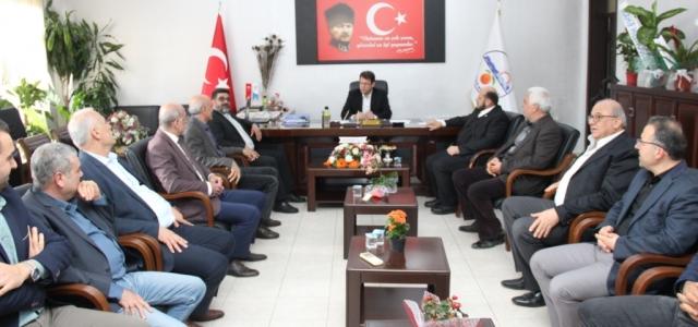 Hristiyan Cemiyetinden Başkan Eryılmaz'a Tebrik Ziyareti