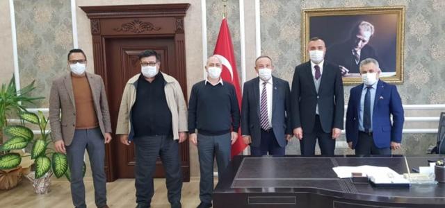 İGC Yönetiminden Arsuz'da Ziyaret Turu