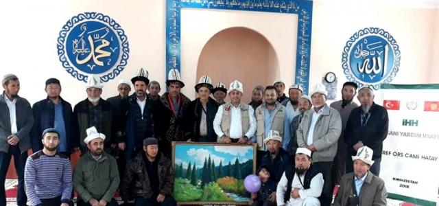 İHH Kırgızistan Bişkek'e Cami yaptırdı