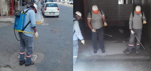 İskenderun Belediyesi İlaçlama Çalışmalarını Sürdürüyor
