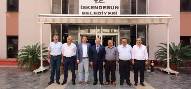 İlçe Başkanlarından Başkan Tosyalı'ya Ziyaret