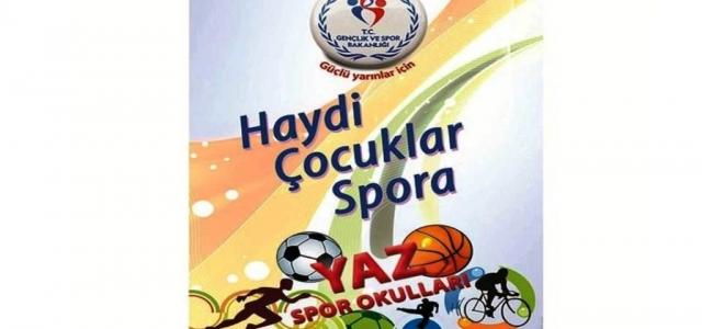 İlçe Spor Çocukları Sporla Buluşturacak