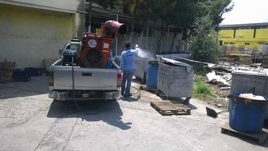 İskenderun Belediyesi İlaçlama Çalışmalarını Hızlandırdı