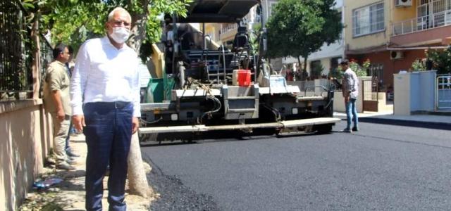 İskenderun Belediyesi Yolları Güzelleştiriyor