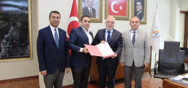 İskenderun Belediyesinde SDS İmzalandı