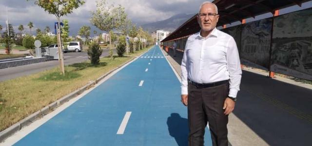 'İskenderun Bisiklet Yolu Projesi Start Aldı'